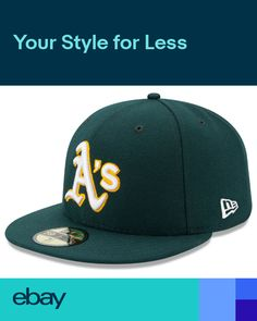 7529256afb6 Oakland As Athletics Game New Era 59FIFTY Fitted Caps MLB AC On Field Hat