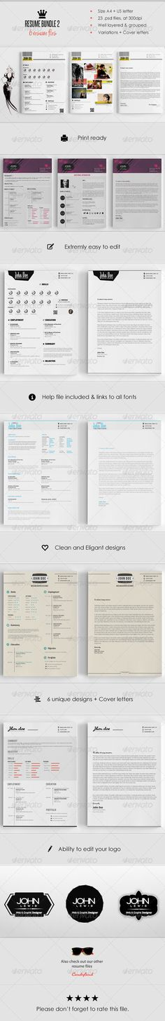 Resume - Resume Template Cv ideas, Simple resume template and - photoshop resume templates