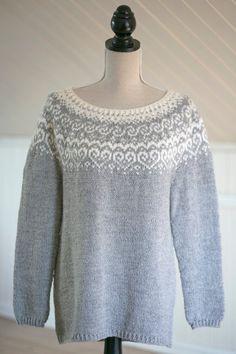 Fair Isle Knitting Patterns, Knitting Blogs, Sweater Knitting Patterns, Loom Knitting, Knit Patterns, Knitting Sweaters, Norwegian Knitting, Icelandic Sweaters, Work Tops