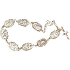 Show your love for many different Patron Saints with this Sterling Silver Patron Saint bracelet. Visit the Leaflet Missal online store today.