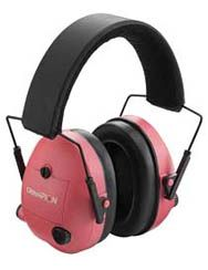 Ahh!  so cute to wear to the range! Champion Pink Electronic Ear Muffs