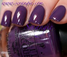 On my nails right now. Dutch Ya Just Love OPI from the OPI Holland Spring/Summer collection. Note: This is not my picture.