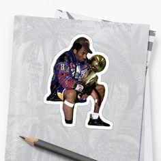 'Kobe Bryant Tribute ' Glossy Sticker by Unbeatable Apparel Transparent Stickers, Kobe Bryant, Glossier Stickers, Classic T Shirts, Art Prints, Printed, Awesome, Nba, Artist
