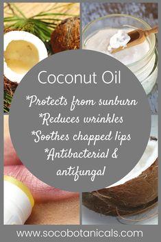 Coconut Oil and it's incredible properties! Anti Aging Tips, Best Anti Aging, Face Skin Care, Diy Skin Care, Low Carb Vegan Diet, Natural Organic Makeup, Face Oil, Women's Health, Natural Medicine