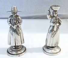 Japanese 950 Silver Figural Salt