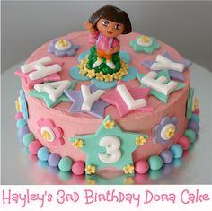 Dora cake by Kat's Cakes, via Flickr