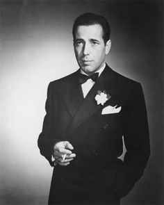 Humphrey DeForest Bogart. American actor. He is widely regarded as a cultural icon. The American Film Institute ranked Bogart as the greatest male star in the history of American cinema. His performance in Casablanca raised him to the peak of his profession and, at the same time, cemented his trademark film persona, that of the hard-boiled cynic who ultimately shows his noble side. Cousin through birthfather's maternal lineage.