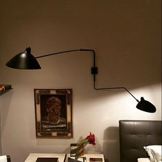 Serge Mouille Two Arm Wall Lamp http://www.zoralighting.com/serge-mouille-lighting/serge-mouille-two-arm-wall-lamp
