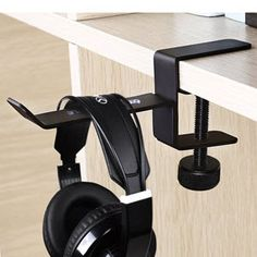 Beau A Headphone Hanger Will Help Organize Your Work Space. Cool Desk  AccessoriesCool Office SuppliesCubicleOffice ...