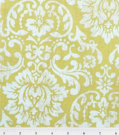 Premium Quilt Fabric- Floral Damask Green: premium quilting fabric: quilting fabric & kits: fabric: Shop | Joann.com << For the DIY bench