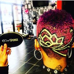 @the_fresh_prince_barber  creative #curlsponge 2.0 Natural Hair Care, Natural Hair Styles, Tapered Afro, Short Hair Cuts, Short Hair Styles, Buzzed Hair, Buzz Cuts, Bald Fade, Fresh Prince