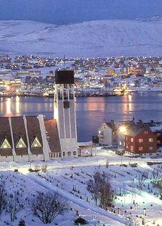 The Hammerfest Church - Hammerfest, Norway