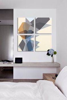 Tight Component 4 Panel Sectional Wall Art on @HauteLook