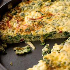 Kale and Roasted Red Pepper Frittata Recipe Recipe