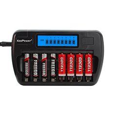 KooPower Akku Ladegerät für AA/AAA Akkubatterien(8 Kanal, mit LCD-Display) Koopower http://www.amazon.de/dp/B014KIA7GY/ref=cm_sw_r_pi_dp_LcgLwb11Z75R2