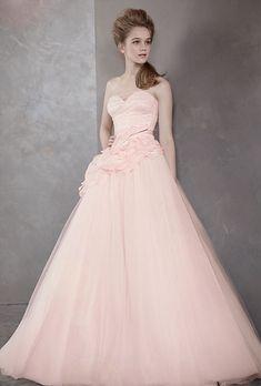 White by Vera Wang Wedding Dress (Style VW35112, available at David's Bridal)