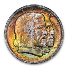 LONG ISLAND 1936 50C Silver Commemorative PCGS MS67+ (CAC) #LSRC #PCGS #TONER #COMMEM #LONGISLAND