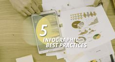 There are tons of infographics out there but many of them fall short because of some basic design errors. Here are 5 infographic best practices to follow. Content Marketing digital media marketing