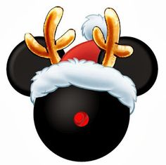 CHRISTMAS MICKEY MOUSE CLIP ART‼️✔️it out Disney colleagues❗️