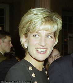 Princess Diana said she was 'delighted' the money had been put to good use...