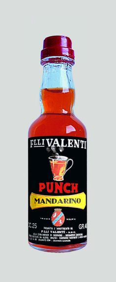 Valenti Eridanea - Mini Liquor Bottles - Tangerine Punch - https://sites.google.com/site/valentieridanea/