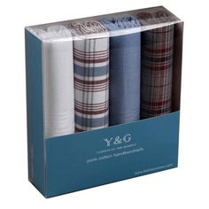 MH1019 Handmade Family Set of 4 Handkerchiefs Set Cheap Gift For Men With Gift Box Various Presents Idea By Y&G Y&G http://www.amazon.com/dp/B003Z050L6/ref=cm_sw_r_pi_dp_8bCGvb1S1EVW1
