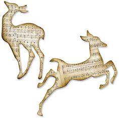 Sizzix Bigz Die - Reindeer Flight: dies & accessories: die cut machines & accessories: scrapbooking: Shop | Joann.com
