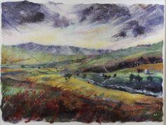 Andrea Hunter - Swaledale View, felt picture. http://www.castlegatehouse.co.uk/artist_images_new/land23042013184913.jpg