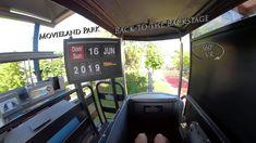 Movieland Park Back To The Backstage (Monorail) 360° VR POV Onride Vr, Backstage