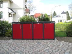 Jetzt wirds bunt - bringen Sie Farbe in Ihr Umfeld mit Cortinox Trash Can Storage Outdoor, Bunt, Furniture Design, Community, Pop, Store, Outdoor Decor, Home Decor, Tips