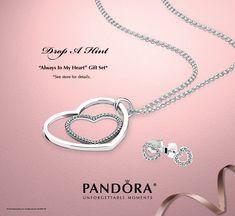 Always in my Heart PANDORA gift set $150 (value $185).   Got