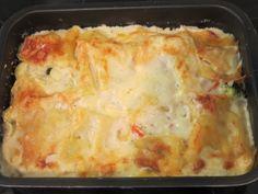 http://www.hopottajat.fi/apetitgratiinit/  Kasvisgratiinista tuunattu lasagne