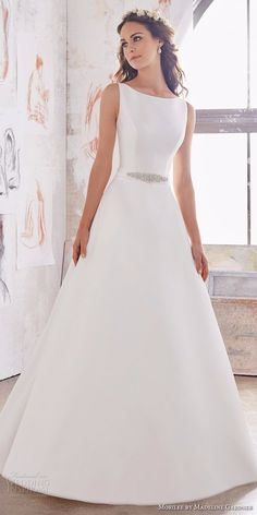 Morilee Wedding Dresses - Blu Collection - Wedding and Bride- Morilee Brautkleider – Blu Kollektion – Hochzeit und Braut Morilee Wedding Dresses – Blu Collection – # Bridal Dresses - Spring 2017 Wedding Dresses, Spring Bridesmaid Dresses, Modest Wedding Dresses, Wedding Dress Styles, Wedding Party Dresses, Designer Wedding Dresses, Bridal Dresses, Spring Dresses, Dresses Dresses