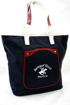 Borsa Tracolla Donna Beverly Hills Polo Club Art. BH-161 woman shopping bag Blu