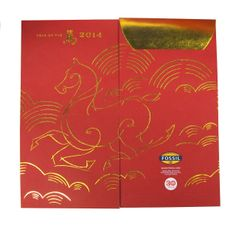 #Fossil 2014 Chinese New Year packaging - Year of the Horse