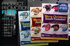 Multipurpose Product Promotion Flyer by KitCreativeStudio2 on Creative Market