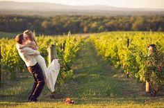 No hace falta ser un personaje de Falcon Crest para casarse entre #viñedos. #bodasoriginales