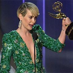 Sarah Paulson Uses Emmys Speech to Apologize to Marcia Clark, Declare Her Love for Holland Taylor