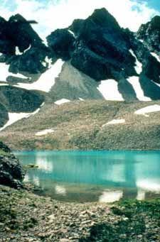Photo of Sloan Lake and American Peaks