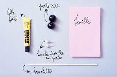 """Art modeste: DIY: Boucles d'oreilles tribales """"Mise en Dior"""" !"""