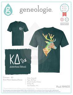 Geneologie greek tee shirts greek tanks custom for Greek life shirt designs