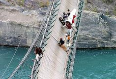 The scariest bridge in the world