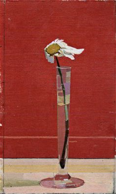 Euan Uglow    Daisy (part of Daisy Triptych), 1991    Oil on canvas laid panel. This reminds me of how my hair must look riding in my husband's Mustang convertible.