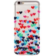 "iPhone 6 PLUS Case NEW 'Flying Hearts'   Fits 5.5"" iPhone 6 PLUS & iPhone 6S PLUS  Hardcase  NO LIP  Covers back and sides  Comes with screen protector Accessories Phone Cases"
