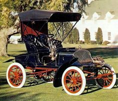 1904 Franklin Air Cooled Two Seater Richard Really Old Vehicles