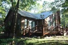 Sundown Cabin Lodging in Broken Bow, Oklahoma - The Elk Horn Broken Bow Cabins, Pull Out Couch, Family Getaways, Cabin Rentals, Lodges, Rustic, Pets, House Styles, Modern