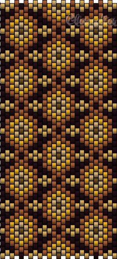 de PEETJES  (I don't know what that says, but this is a Peyote stitch)