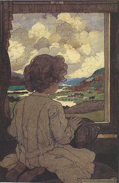 Maxfield Parrish, 1903 The Journey