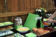 Cute Camping themed birthday party