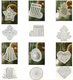 Best 12 Star Christmas: crochet ornaments – with diagram by Jeroen En Franciska Jonkman – SkillOfKing.Com - Her Crochet Crochet Snowflake Pattern, Christmas Crochet Patterns, Crochet Motifs, Holiday Crochet, Crochet Snowflakes, Crochet Chart, Crochet Doilies, Crochet Flowers, Crochet Christmas Hats